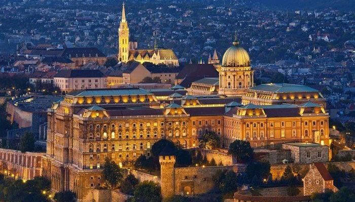 Buda Castle - Largest Castles