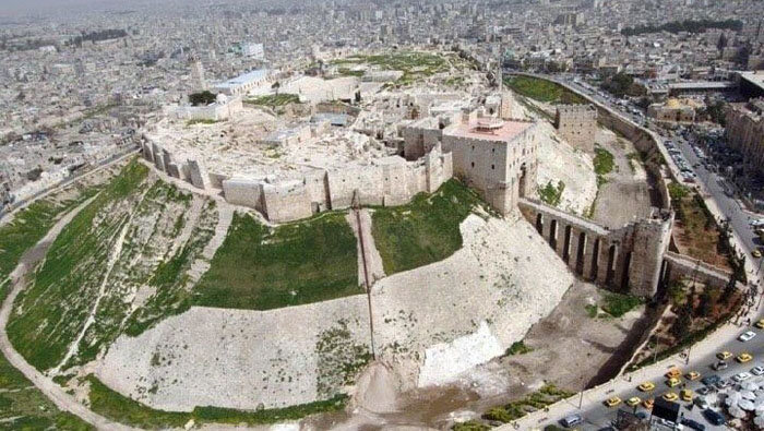 Citadel of Aleppo - Largest Castles
