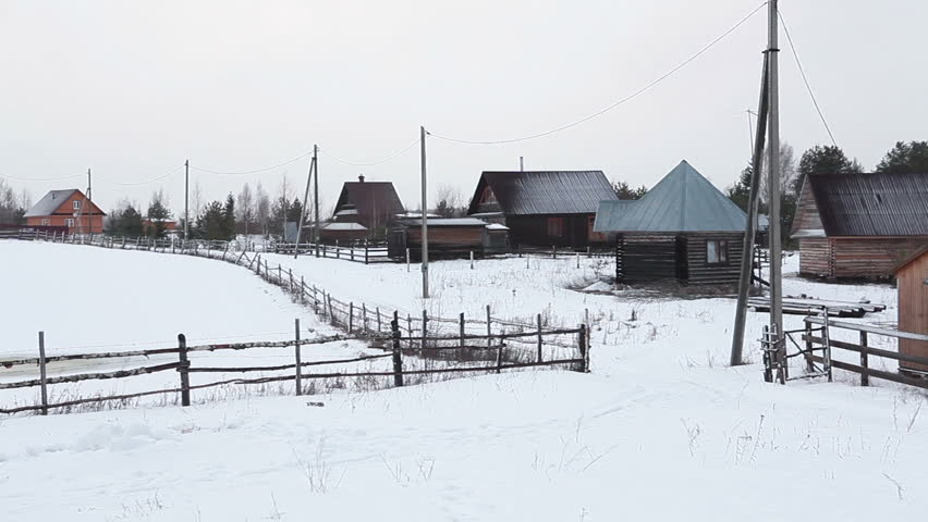 Krasnoyarsk Villages, Russia - Remote Places