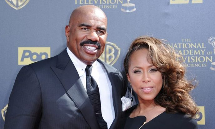 Steve Harvey - Celebrities Who Married Their Fans