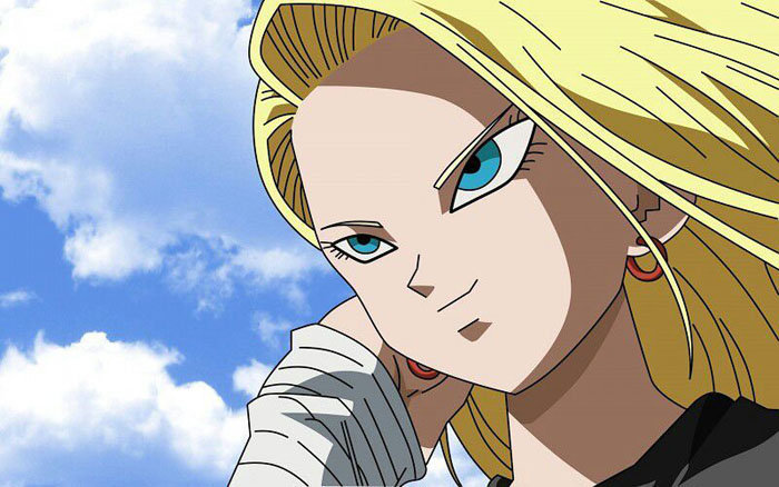 Android 18 - Hottest Anime Girls