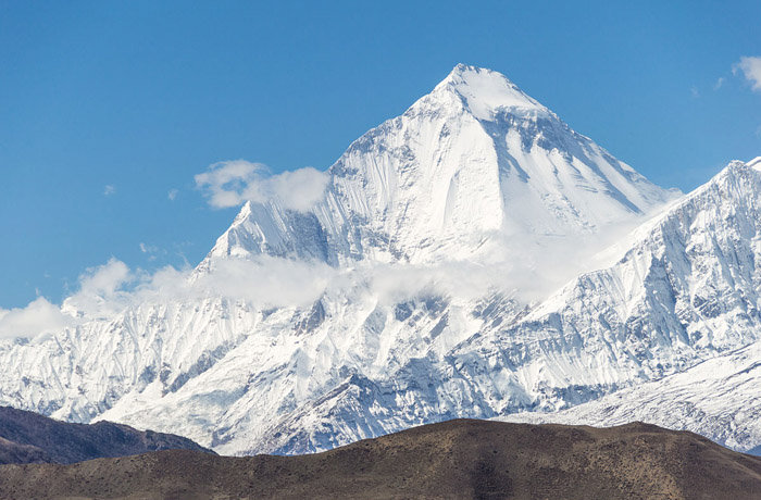 Dhaulagiri I - Highest Mountain Peaks