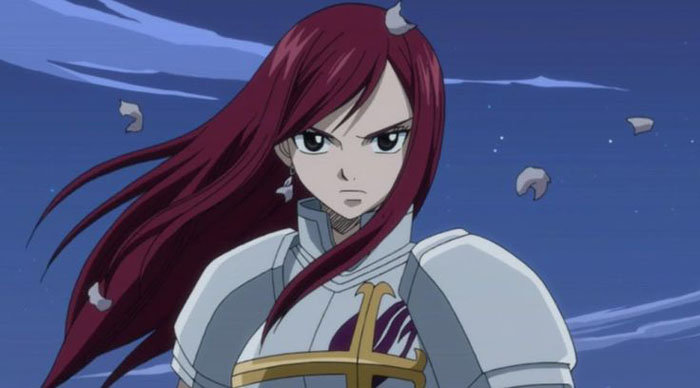 Erza Scarlet - Hottest Anime Girls