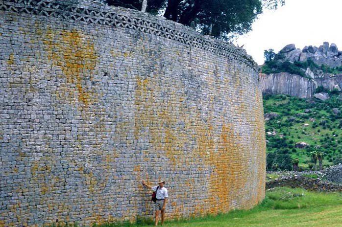 Great Zimbabwe Walls - Famous Walls