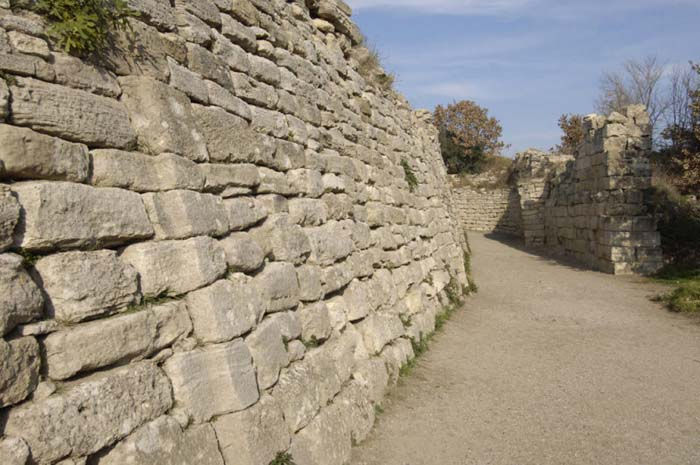 Walls Of Troy - Famous Walls
