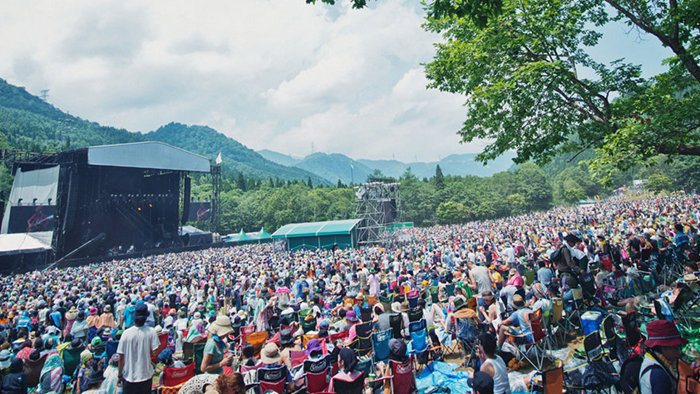 Fuji Rock Festival - biggest music festivals