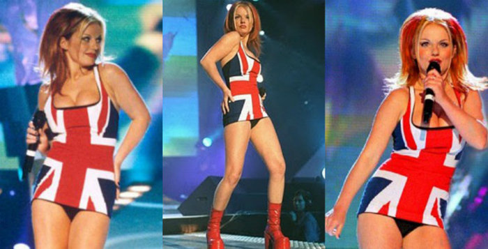 Union Jack dress - famous dresses